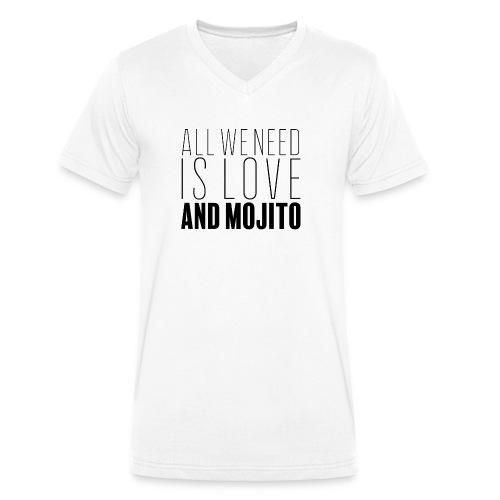 Love and Mojito - T-shirt bio col V Stanley & Stella Homme