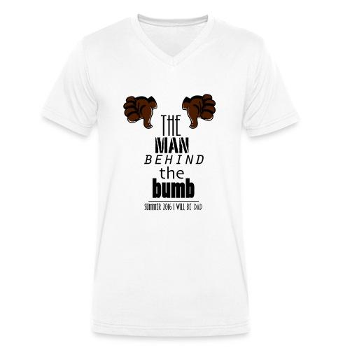 shirt - Mannen bio T-shirt met V-hals van Stanley & Stella
