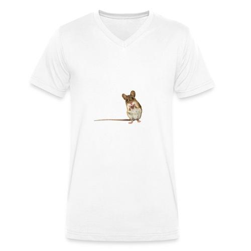 maus - Männer Bio-T-Shirt mit V-Ausschnitt von Stanley & Stella