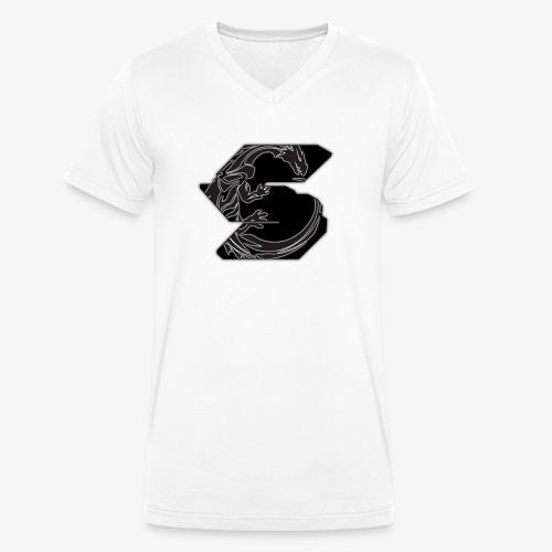 S Dragon - Männer Bio-T-Shirt mit V-Ausschnitt von Stanley & Stella