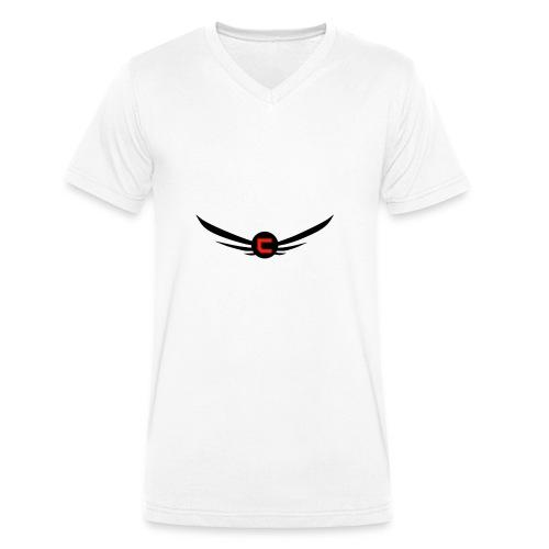 cloudy_v2_png-png - Ekologisk T-shirt med V-ringning herr från Stanley & Stella