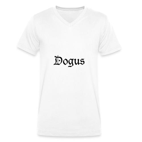 DOGUS - Streetwear - Männer Bio-T-Shirt mit V-Ausschnitt von Stanley & Stella