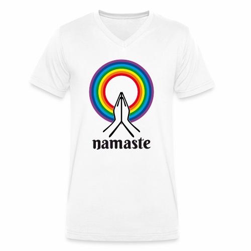 Namaste - T-shirt bio col V Stanley & Stella Homme