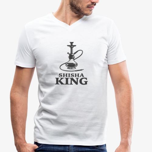 SHISHA KING T shirt - Männer Bio-T-Shirt mit V-Ausschnitt von Stanley & Stella