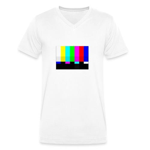No Signal - Männer Bio-T-Shirt mit V-Ausschnitt von Stanley & Stella