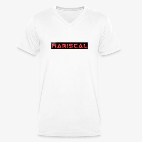 MARISCAL - Camiseta ecológica hombre con cuello de pico de Stanley & Stella
