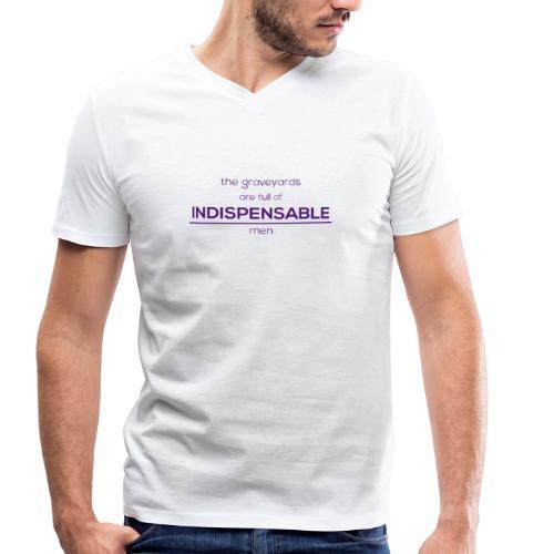 Indispensable - Men's Organic V-Neck T-Shirt by Stanley & Stella