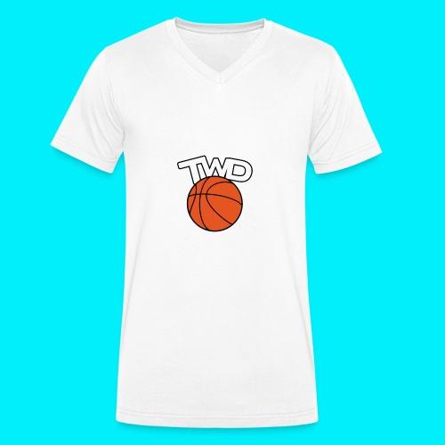 Logo TWD - T-shirt bio col V Stanley & Stella Homme