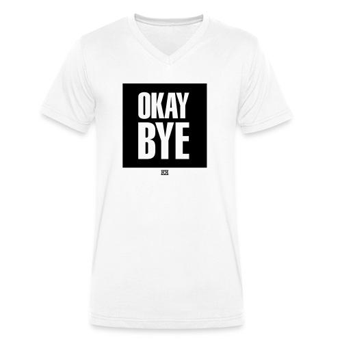 OKAYBYE light - Männer Bio-T-Shirt mit V-Ausschnitt von Stanley & Stella
