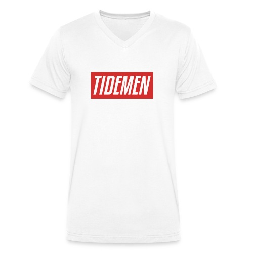 TIDEMEN CLOTHING - Men's Organic V-Neck T-Shirt by Stanley & Stella