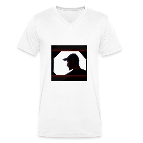 Titelbild Cover - Logo - Männer Bio-T-Shirt mit V-Ausschnitt von Stanley & Stella