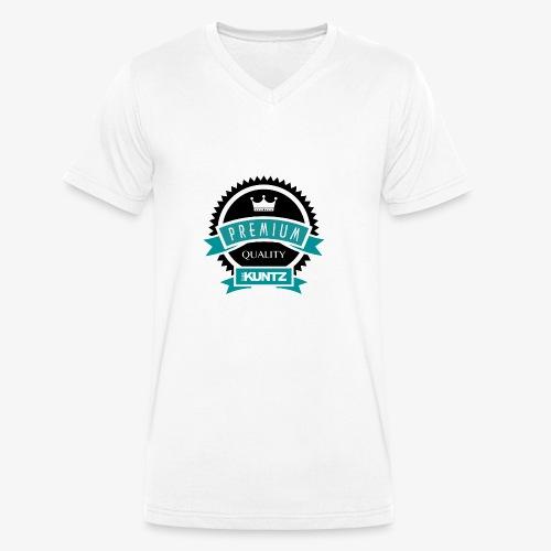 Ralph KUNTZ - Premium Quality - Men's Organic V-Neck T-Shirt by Stanley & Stella