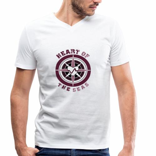 HEART OF THE SEAS - Männer Bio-T-Shirt mit V-Ausschnitt von Stanley & Stella