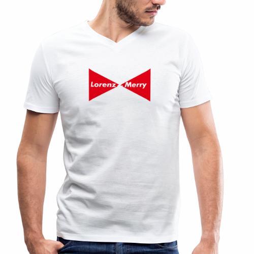 Bow tie - T-shirt bio col V Stanley & Stella Homme