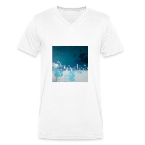 Bleumoi - T-shirt bio col V Stanley & Stella Homme