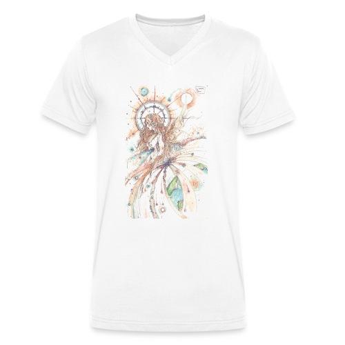 Déesse du ciel - T-shirt bio col V Stanley & Stella Homme