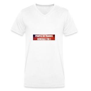 Vêtements pour les patriotes - T-shirt bio col V Stanley & Stella Homme