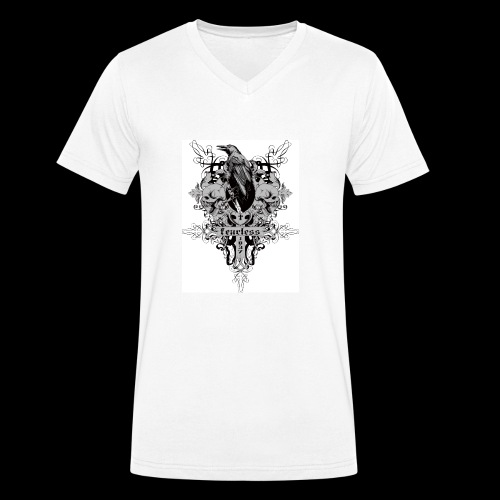 4less - Männer Bio-T-Shirt mit V-Ausschnitt von Stanley & Stella