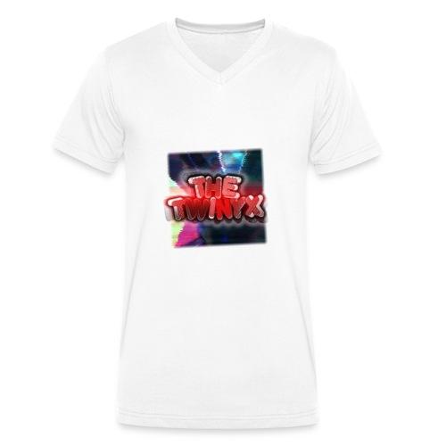 TheTwinyx - Männer Bio-T-Shirt mit V-Ausschnitt von Stanley & Stella