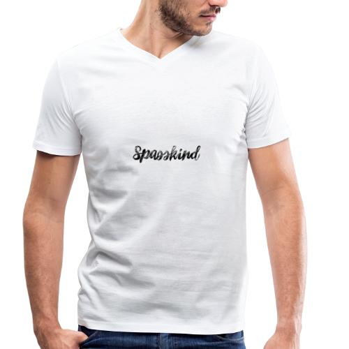 Spasskind Sunshine Edition - Männer Bio-T-Shirt mit V-Ausschnitt von Stanley & Stella