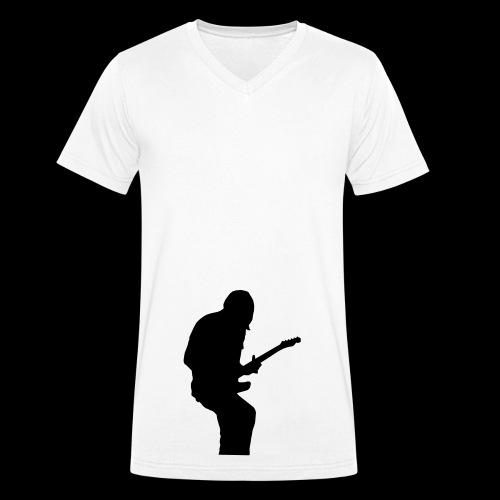 The Guitar Player! - Männer Bio-T-Shirt mit V-Ausschnitt von Stanley & Stella