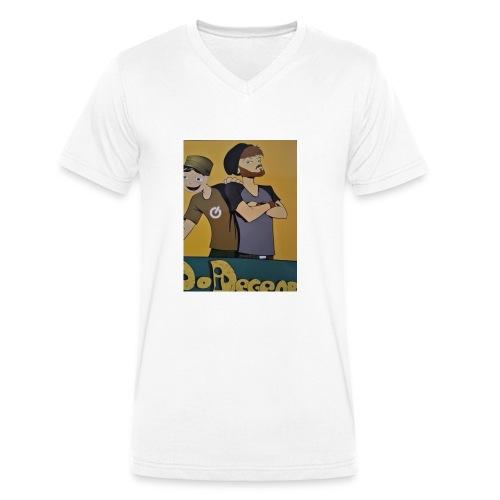 NigRoll - Männer Bio-T-Shirt mit V-Ausschnitt von Stanley & Stella