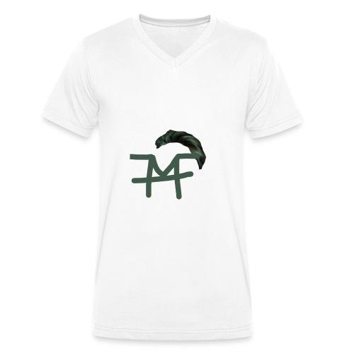 Haaaaaar design - Männer Bio-T-Shirt mit V-Ausschnitt von Stanley & Stella