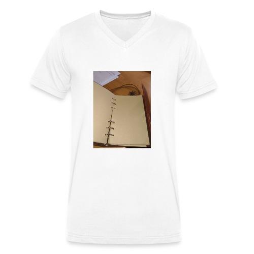 P 20180124 143148 vHDR Auto - T-shirt ecologica da uomo con scollo a V di Stanley & Stella