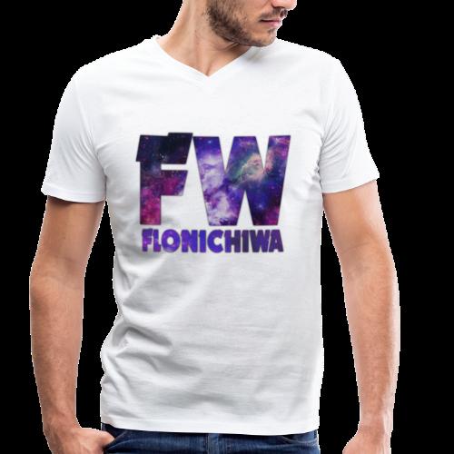 FW Shirt Design - Flonichiwa - Männer Bio-T-Shirt mit V-Ausschnitt von Stanley & Stella
