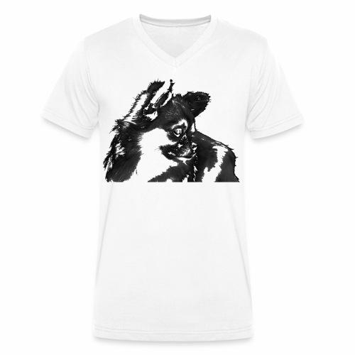 Chihuahua Design - Männer Bio-T-Shirt mit V-Ausschnitt von Stanley & Stella