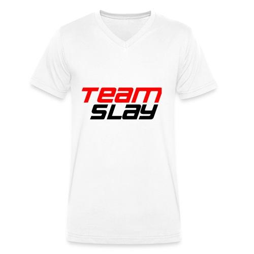 Team Slay - Männer Bio-T-Shirt mit V-Ausschnitt von Stanley & Stella