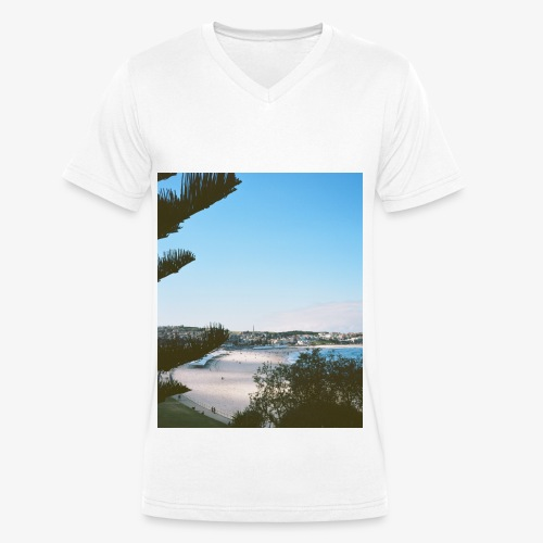 BONDI BEACH - T-shirt bio col V Stanley & Stella Homme