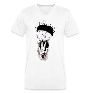 astronaute - T-shirt bio col V Stanley & Stella Homme