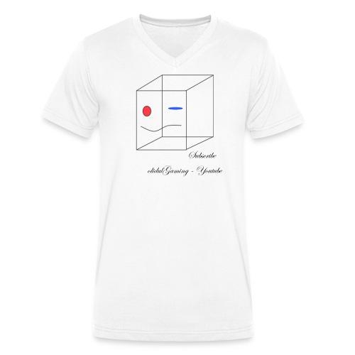 olidulGaming - Subscribe - Men's Organic V-Neck T-Shirt by Stanley & Stella