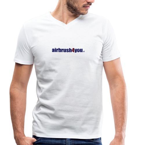 Airbrush Nederland - Männer Bio-T-Shirt mit V-Ausschnitt von Stanley & Stella