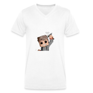 AwaZeK design - T-shirt bio col V Stanley & Stella Homme