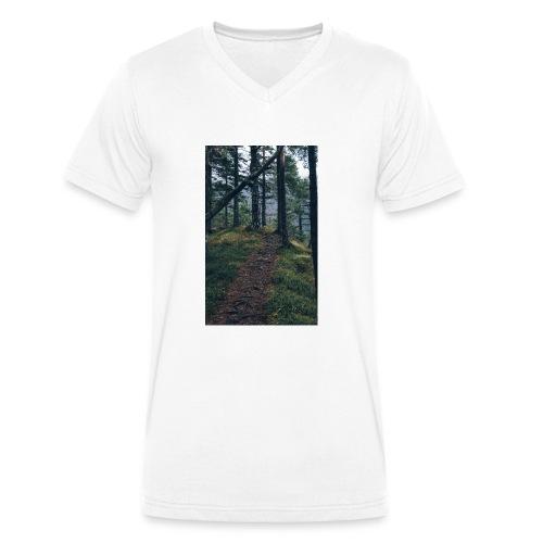 So still wie die Nacht - Männer Bio-T-Shirt mit V-Ausschnitt von Stanley & Stella
