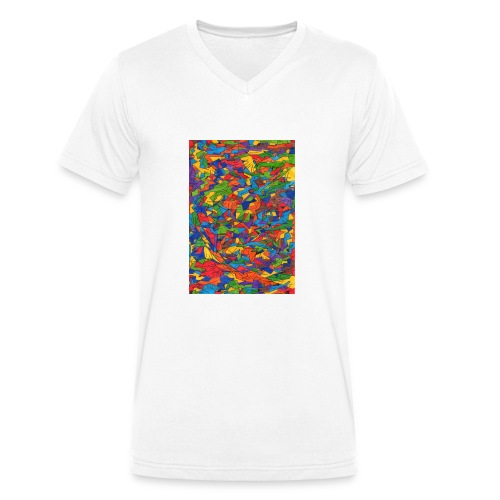 Color_Style - Camiseta ecológica hombre con cuello de pico de Stanley & Stella