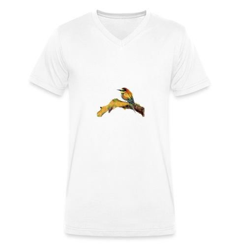 Uccellino - T-shirt ecologica da uomo con scollo a V di Stanley & Stella
