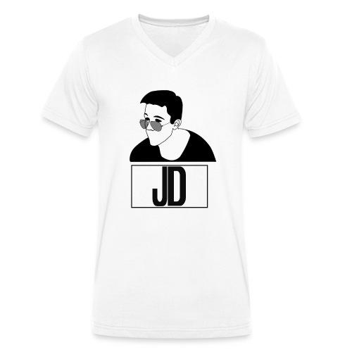 John Dollar Nuovo MERCH - T-shirt ecologica da uomo con scollo a V di Stanley & Stella
