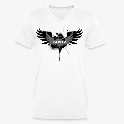 Ralph KUNTZ Wings - Men's Organic V-Neck T-Shirt by Stanley & Stella