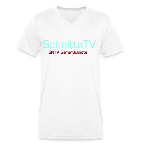SchnitteTV SNTV GamerSchnitte - Männer Bio-T-Shirt mit V-Ausschnitt von Stanley & Stella