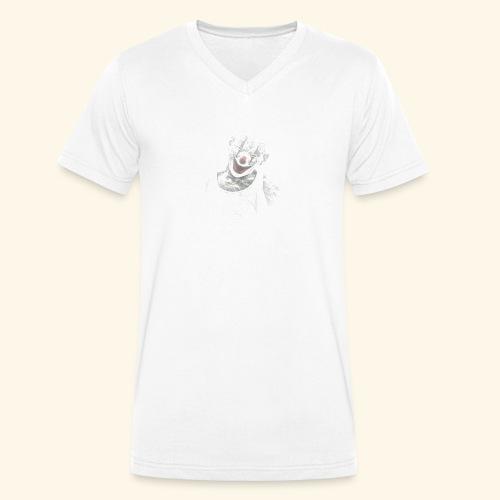 clown - Männer Bio-T-Shirt mit V-Ausschnitt von Stanley & Stella