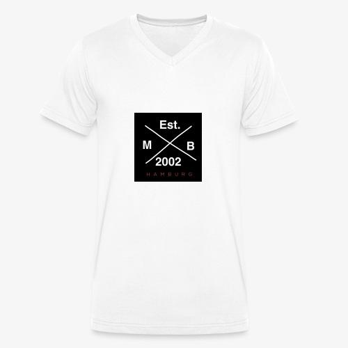 Merch 2 - Männer Bio-T-Shirt mit V-Ausschnitt von Stanley & Stella