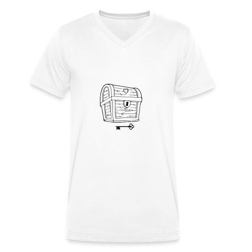 Treasure Trove of Love - Männer Bio-T-Shirt mit V-Ausschnitt von Stanley & Stella