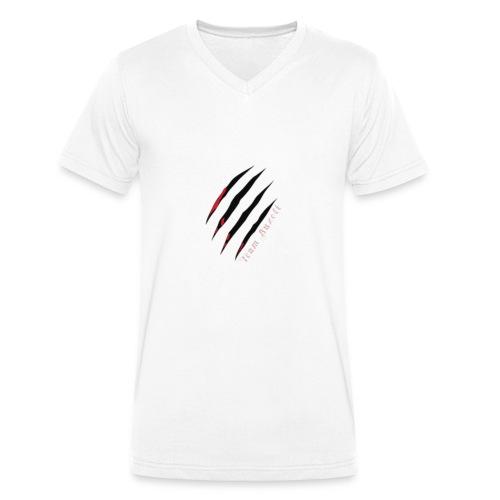 Buzoli Merch - Männer Bio-T-Shirt mit V-Ausschnitt von Stanley & Stella