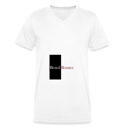 Benril Bounce - Männer Bio-T-Shirt mit V-Ausschnitt von Stanley & Stella