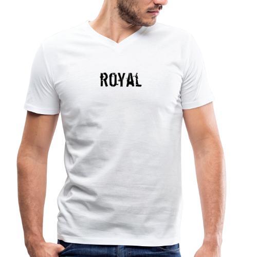 RoyalClothes - Mannen bio T-shirt met V-hals van Stanley & Stella