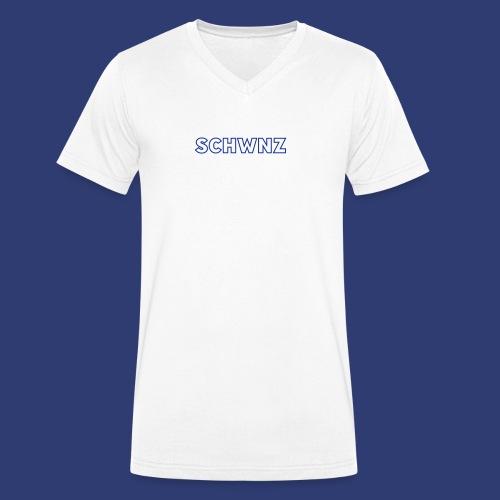 SCHWNZ - Mannen bio T-shirt met V-hals van Stanley & Stella