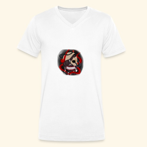 Tokyo Ghoul Tattoo design - Men's Organic V-Neck T-Shirt by Stanley & Stella